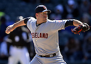 CHICAGO - APRIL 09:  Zach McCallister #34 of the Cleveland Indians pitches against the Chicago White Sox on April 9, 2016 at U.S. Cellular Field in Chicago, Illinois.  The White Sox defeated the Indians 7-3.  (Photo by Ron Vesely)  Subject: Zach McCAllister
