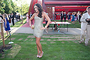 TAMARA ECCLESTONE, The Summer Party. Serpentine Gallery. 8 July 2010. -DO NOT ARCHIVE-© Copyright Photograph by Dafydd Jones. 248 Clapham Rd. London SW9 0PZ. Tel 0207 820 0771. www.dafjones.com.