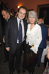 JILLY COOPER and QUENTIN LETTS at the 2008 Oldie of The year Awards and lunch held at Simpsons in The Strand, London on 11th March 2008.<br /><br />NON EXCLUSIVE - WORLD RIGHTS