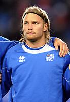 Fotball<br /> FIFA World Cup Qualifyer<br /> 15.10.2013<br /> Norge v Island / Norway v Iceland 1:1<br /> Foto: Morten Olsen/Digitalsport<br /> <br /> Birkir Bjarnason (8) - Iceland