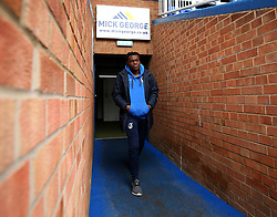 Marc Bola of Bristol Rovers arrives at The ABAX Stadium, for the Sky Bet League One fixture against Peterborough United - Mandatory by-line: Robbie Stephenson/JMP - 24/03/2018 - FOOTBALL - ABAX Stadium - Peterborough, England - Peterborough United v Bristol Rovers - Sky Bet League One