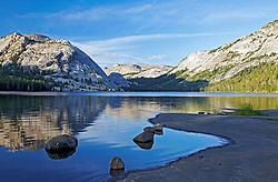 Tenaya Lake, Tenaya Dome, reflection, Yosemite National Park