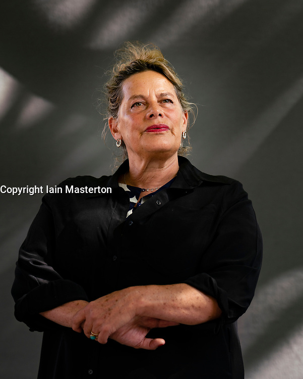 Edinburgh, Scotland, UK. 26 August 2019. Deborah Levy the Booker Prize Long List author. Her new book The man Who Saw Everything, follows young historian Saul Adler to East Berlin in 1989.. Iain Masterton/Alamy Live News.