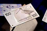 Perspreview 50 jaar Koninklijk Paleis Amsterdam.<br /> <br /> Op de foto: 100 Gulden - Snip