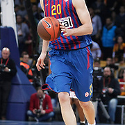 FC Barcelona Regal's Joe INGLES during their Euroleague group D matchday 5 Galatasaray between  FC Barcelona Regal at the Abdi Ipekci Arena in Istanbul at Turkey on Thursday, November 17 2011. Photo by TURKPIX