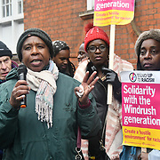 Emergency Demo Jamaica Govt - STOP Mays racist Charter Flight, London, Uk