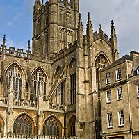 The Abbey, Bath, England, United Kingdom