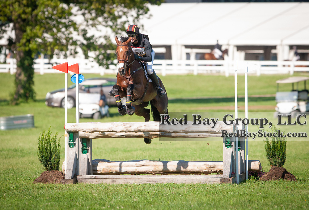 Doug Payne (USA) and Quantum Leap at the USEA American Eventing Championships in Lexington, Kentucky.