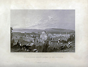 St. Jean D'Acre, Mount Carmel in the Distance From Syria, the Holy Land, Asia Minor, etc. : by  Carne, John, 1789-1844; Bartlett, W. H. (William Henry), 1809-1854; Purser, William Publisher: London, Fisher [1839-40]