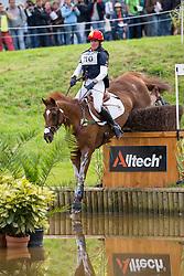 Maria Pinedo, (ESP), Windsor H - Eventing Cross - Alltech FEI World Equestrian Games™ 2014 - Normandy, France.<br /> © Hippo Foto Team - Leanjo De Koster