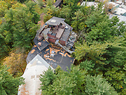 Aerial photogrpah of the House on the Rock, a tourist attraction in Iowa County, near Spring Green, Wisconsin, USA.