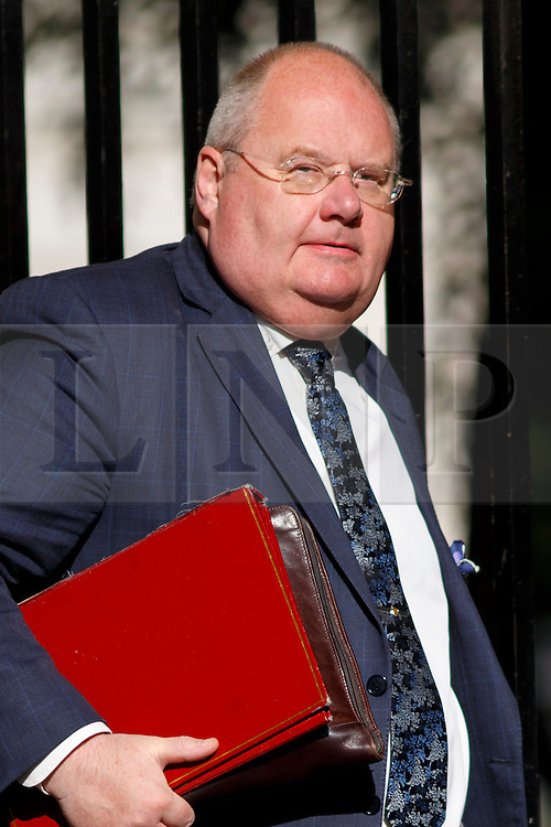 © Licensed to London News Pictures. 01/07/2014. LONDON, UK. Communities Secretary Eric Pickles attending to a cabinet meeting in Downing Street on Tuesday, 1 July 2014. Photo credit: Tolga Akmen/LNP
