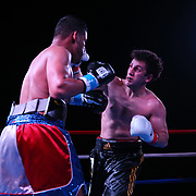 Boxers fight during the Puerto Rico vs The World boxing event promoted by Nelson Promotions and ProBox Management at Orlando Live Events Center on Friday, March 24, 2017 in Casselberry, Florida.  (Alex Menendez)<br /> <br /> Miguel Cruz; Dennis Galarza; Ali Mammadov; Jonathan Perez; Cesar Seda; Sergio Gomez; Samuel Figueroa; Ismat Eynuliayev; Craig Duncan; Samuel Miller; Josue Vargas; Carlos Winton Valasquez; Peter Dobson; Frank Gedeon; Edgar Berlanga; Christoper Salerno