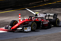 May 25, 2018 - Montecarlo, Monaco - 21 Antonio FUOCO from Italy of CHAROUZ RACING SYSTEM during the Monaco Formula Two race 1  at Monaco on 25th of May, 2018 in Montecarlo, Monaco. (Credit Image: © Xavier Bonilla/NurPhoto via ZUMA Press)