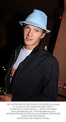 MR JACOBI ANSTRUTHER-GOUGH-CALTHORPE at a party in London on 18th September 2003.PMR 17