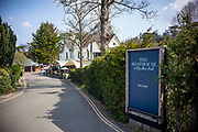 Maidenhead, Berkshire, United Kingdom, Wednesday, 21/04/2021, General View,  Boathouse Restaurant, Ray Mill Island,  River Thames, Thames Valley, [Mandatory Credit; Pete Spurrier],