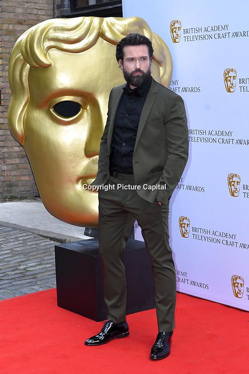 Emmett J. Scanlan Arrivers at the British Academy Television Craft Awards on 28 April 2019, London, UK.