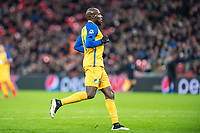 LONDON, ENGLAND - DECEMBER 06: Mickaël Poté of Apoel Nicosia  during the UEFA Champions League group H match between Tottenham Hotspur and APOEL Nicosia at Wembley Stadium on December 6, 2017 in London, United Kingdom. (Photo by MB Media/Getty Images)