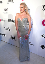 Pixie Lott attending the Elton John AIDS Foundation Viewing Party held at West Hollywood Park, Los Angeles, California, USA.