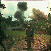 Operation Georgia: US Marines blow up bunkers and tunnels used by the Vietcong, 5 May 1966. NARA photograph.