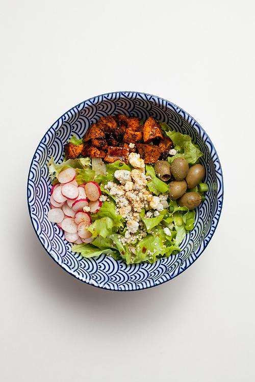 Blue Cheese & Sweet Potato salad from the fridge (m€)