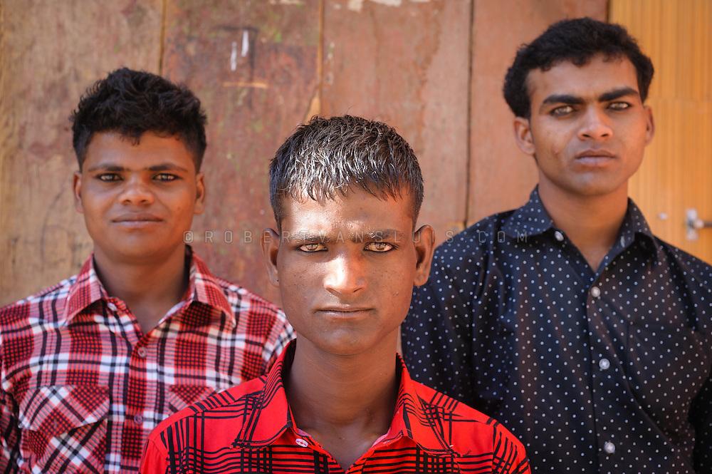 Muslim boys in Leh, Ladakh, India