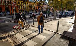 Street scene in the Boulevard de Strasbourg, Toulouse, France<br /> <br /> (c) Andrew Wilson | Edinburgh Elite media