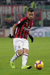 January 26, 2019 - Milan, Milan, Italy - Suso #8 of AC Milan in action during the serie A match between AC Milan and SSC Napoli at Stadio Giuseppe Meazza on January 26, 2018 in Milan, Italy. (Credit Image: © Giuseppe Cottini/NurPhoto via ZUMA Press)