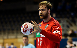 Andreas Wolff of Germany during handball match between National Teams of Germany and Slovenia at Day 2 of IHF Men's Tokyo Olympic  Qualification tournament, on March 13, 2021 in Max-Schmeling-Halle, Berlin, Germany. Photo by Vid Ponikvar / Sportida