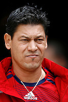 20 May 2007: Chivas assistant coach Martin Vasquez during a 1-1 tie for MLS Chivas USA vs. Los Angeles Galaxy pro soccer teams at the Home Depot Center in Carson, CA.