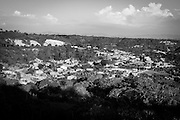 """2015/03/12 - Pile, Ecuador: View of the village of Pile in the Manabí province. The village is far from any modernity. It's main production it is still the """"Montecristi hats"""", commonly known internationally as the """"Panamá Hats"""". The number of craftsmen in the village is declining. Competition from China and the Ecuadorian city of Cuenca that have bigger production and cheaper prices, make hard to make a living to the craftsmen of Pile."""