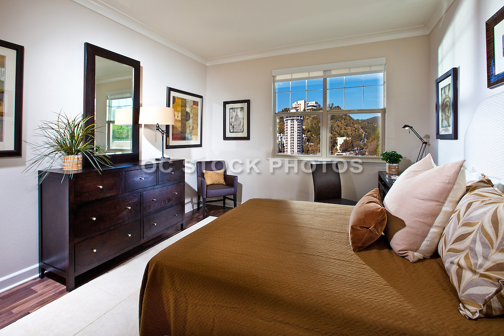 Guest Bedroom In High Rise Condo