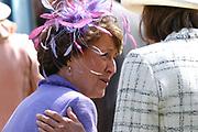 On Queensday, april 30th the Queen attends the celebrations of Queensday in Scheveningen near the Hague.<br /> This is her 25th jubilee.<br /> <br /> Op Koninginnedag, 30 april, is de Koningin  's Middags aanwezig metn en haar familie het koninginnedagfeest mee te vierten in Scheveningen.<br /> <br /> On The photo / On the Photo;<br /> <br /> Princes Margriet / Prinses Magriet