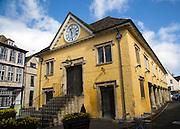 Market House, built in 1655, Tetbury, Cotswolds. Gloucestershire, England, UK,