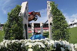 Wathelet Gregory, (BEL), Conrad de Hus<br /> Furusiyya FEI Nations CupTM presented by Longines<br /> CSIO Sankt Gallen 2015<br /> © Hippo Foto - Stefano Secchi<br /> 05/06/15