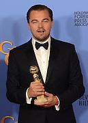 LEONARDO DI CAPRIO @ the 73rd Annual Golden Globe awards held @ the Beverly Hilton hotel.<br /> ©Exclusivepix Media