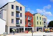 Whisstocks development nearing completion, Woodbridge, Suffolk, England, UK October 2017