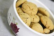 Home made middle eastern style Tahini cookies (aka Halvah cookies)