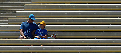 April 29, 2017 - Los Angeles, California, U.S. - UCLA Bruins fan look on during the UCLA football Spring Showcase on Saturday, April 29, 2017 in Los Angeles. (Photo by Keith Birmingham, Pasadena Star-News/SCNG) (Credit Image: © San Gabriel Valley Tribune via ZUMA Wire)