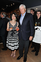 ARCHIE & SHARON STIRLING at a party to celebrate the publication of 'Garden' by Randle Siddeley held at Linley, 60 Pimlico Road, London on 24th May 2011.