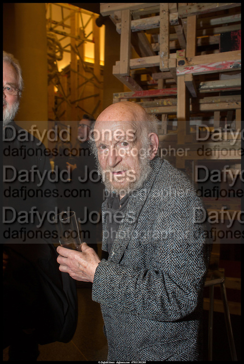 GUSTAV METZGER, Tate Britain Commission 2014: Phyllida Barlow, Tate Britain. Millbank. London. 31 March 2014.