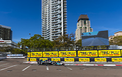 March 8, 2019 - St. Petersburg, Florida, U.S. - COLTON HERTA (88) of The United States goes through the turns during practice for the Firestone Grand Prix of St. Petersburg at Temporary Waterfront Street Course in St. Petersburg, Florida. (Credit Image: © Walter G Arce Sr Asp Inc/ASP)