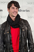 """Alejo sauras at Stradivarius store for the collection """"Fiesta'12 party  in Madrid"""