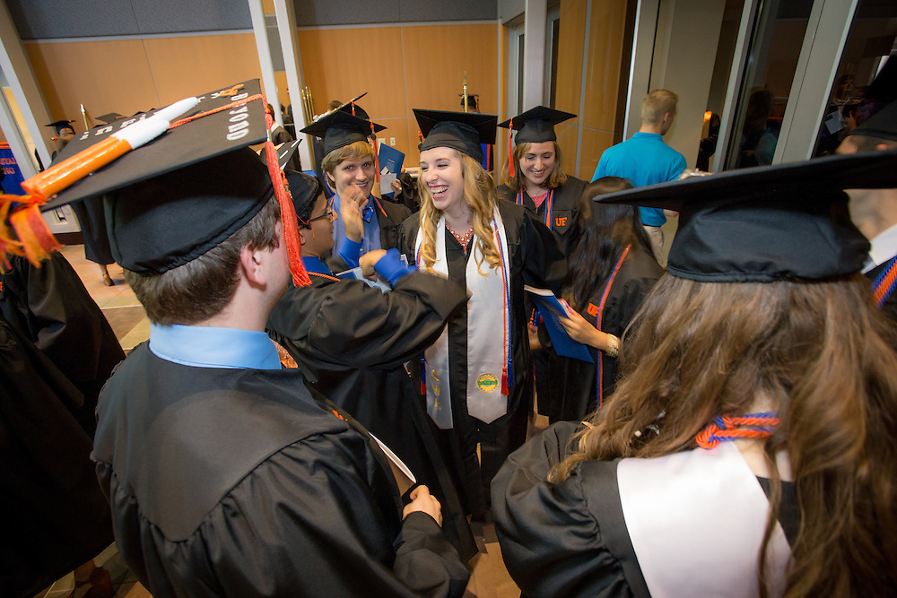 The University of Florida's College of Engineering commencement ceremonies for all undergraduate programs were held at the Phillips Center for Performing Arts on UF's campus in Gainesville, Florida. This graduating engineering department is the Mechanical and Aerospace Engineering.