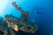 The wrecks of Truk Lagoon : Amagisan Maru