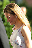 062314 Queen Letizia attends Opening of the exhibition 'El Greco and modern painting'