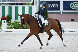 Elisa Melaranci, (BRA), Zabelle - Team Competition Grade II Para Dressage - Alltech FEI World Equestrian Games™ 2014 - Normandy, France.<br /> © Hippo Foto Team - Jon Stroud <br /> 25/06/14