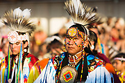 Dancers at Indian Days Pow Wow in Browning.
