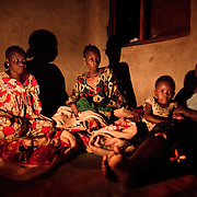 A family mourns the death of Fleury, 20 year old, mother of a two year old daughter who was killed by a grenade in Bangui thrown at her by elements of the ex-Seleka, the rebel group that took power in the Central African Republic in March 2013. <br /> Following them stealing a bike, the local population tried to catch them and they decided to hide in local shop own by a Chadian. From the shop, and to disperse the crowd, they threw a grenade that killed Fleury.