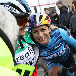 15-12-2019: Wielrennen: Druivencross: Overijse: Eva Lechner: Evie Richards